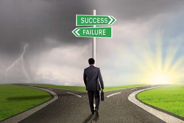 Mỗi thất bại là một dấu mốc của thành công