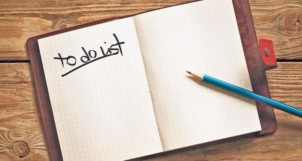 Lên danh sách những việc cần làm mỗi ngày - thời gian biểu của người thành công