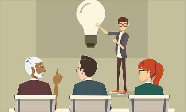 Cách thuyết trình tự tin trước đám đông – giữ bình tĩnh
