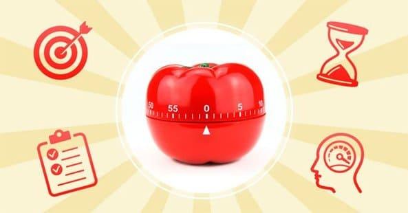 Phần mềm quản lý thời gian Pomodoro hoạt động trên nguyên tắc tập trung làm một công việc trong thời gian xác định
