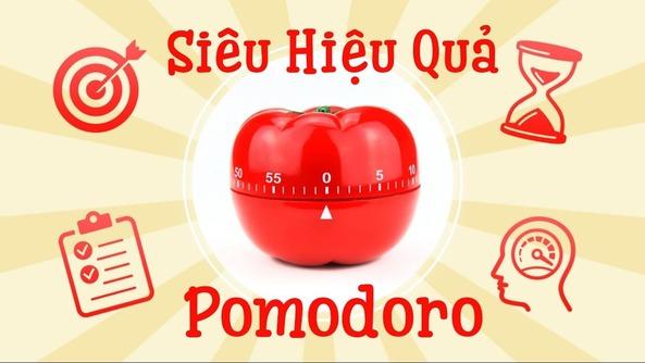 Phương pháp Pomodoro là phương pháp học tập hay làm việc tập trung cao trong 25 phút