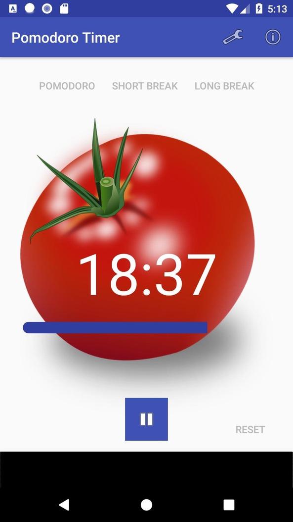 Ứng dụng giúp tối ưu hóa phương pháp Pomodoro - Tomato Timer