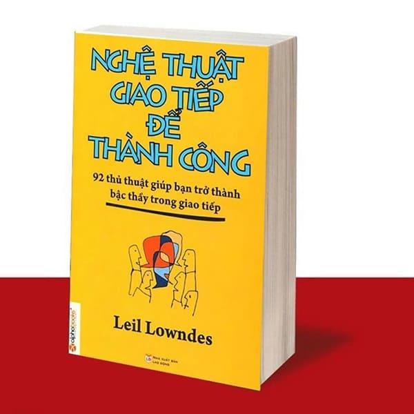 Sách kỹ năng giao tiếp - Nghệ thuật giao tiếp để thành công