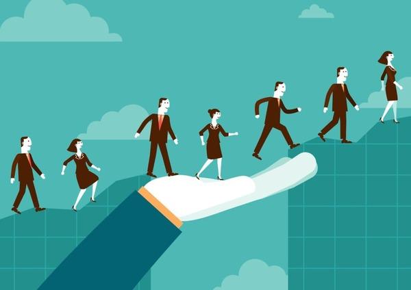 Lãnh đạo là quá trình tác động đến con người, để họ cố gắng một cách tự nguyện vì các mục tiêu chung